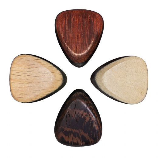 Tri Tones Mixed Pack of 4 Guitar Picks